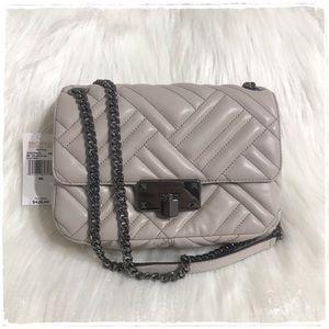 NWT! Michael Kors Peyton Medium Shoulder Flap Bag
